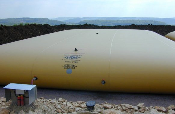 Water tank 350 m3