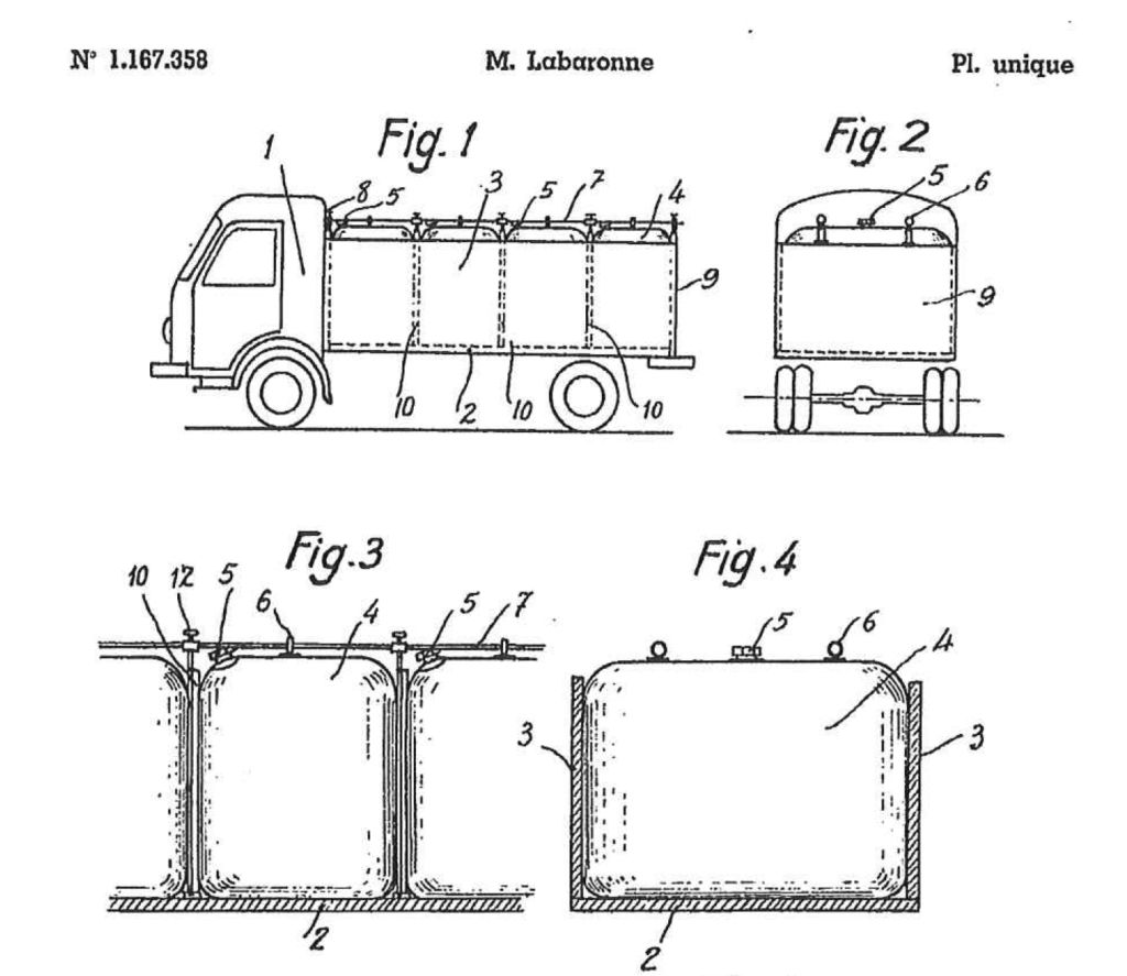 1st filing patent of the invention