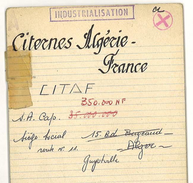 Birth of CITAF company