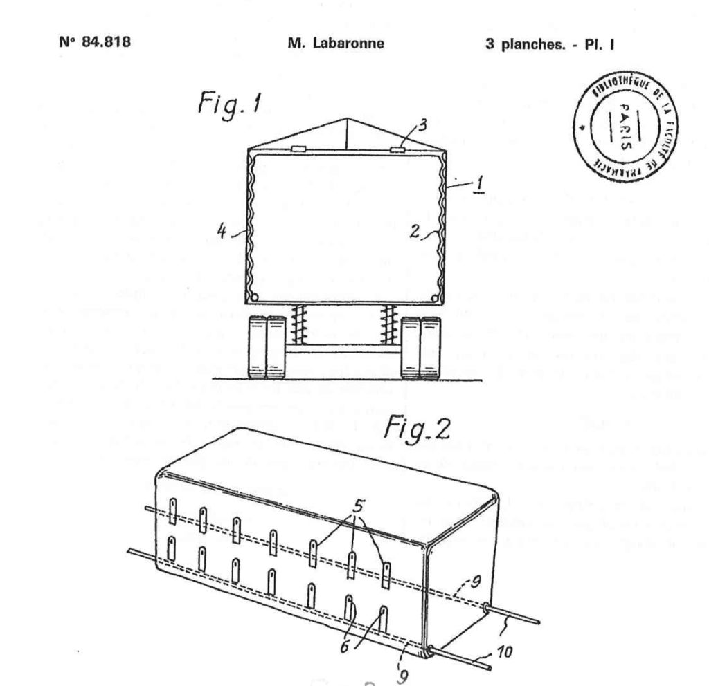 Revision of the 1st patent