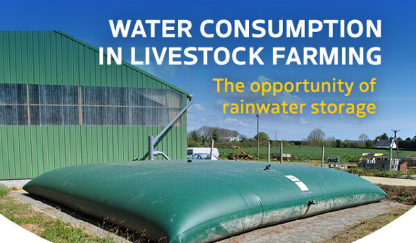 Rainwater harvesting on a agricultural holding
